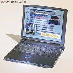 Toshiba Portege 3440CT Ultraportable Thin Laptop Notebook Computer Windows XP
