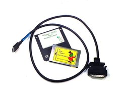 ASM Gator PCMCIA Fast SCSI Adapter PC Card Kit with High-Density HD50 Cable