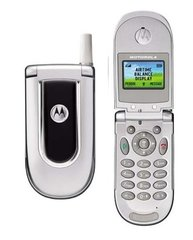 Motorola V170 GSM Mobile Cell Flip Phone Tracfone Silver with Battery