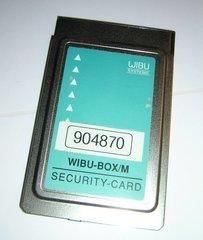 Wibu Systems Wibu-Box/M Security Card PCMCIA Adapter PC Card