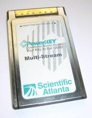 Scientific Atlanta PowerKey Multi-Stream CableCARD M-Card PKM802 CardBus PC Card