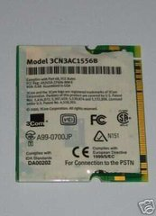 3Com® 10/100 LAN+56K Modem Mini PCI Card 3CN3AC1556B