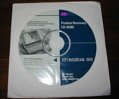 HP OmniBook 800CT 5/166 Genuine Recovery Restore CD-ROM