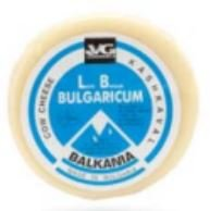 VG Bulgarian Cow Kashkaval Big Circle 2lb