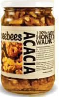 Seebees Acacia Honey With Walnuts 450g