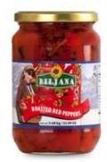 Biljana Red Long Roasted Peppers