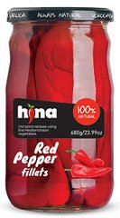 Hina Red Long Peppers 680g