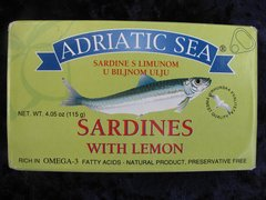 Adriatic Sea Sardines with lemon