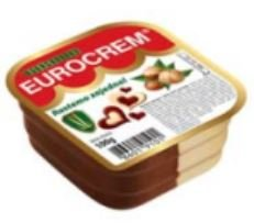 Eurocrem Chocolate & Vanilla Spread 100g