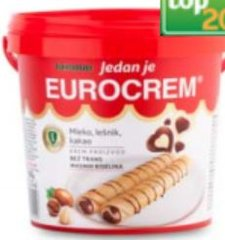 Eurocrem Vanilla & Chocolate Spread 1kg