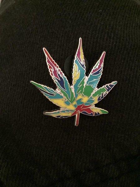 Leaf Hatpin