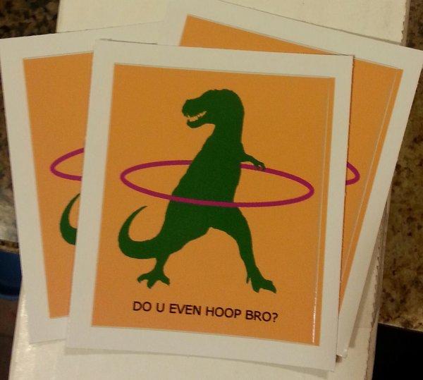 Do You Hoop Sticker