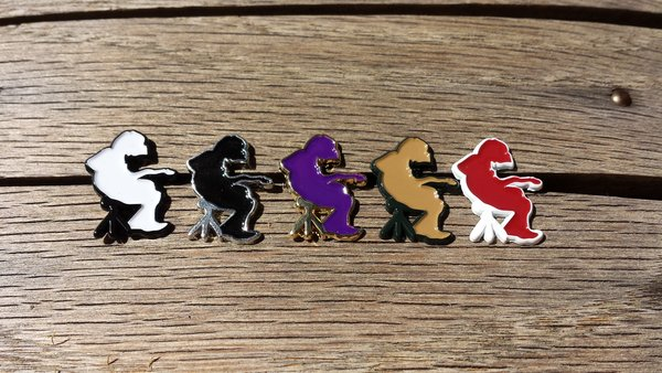 Mikey Silhouette Pin Full Set