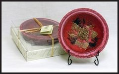 CRANBERRY SPICE REGULAR WAX POTTERY® VESSEL