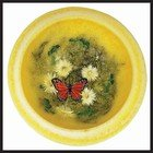 BUTTERFLY GARDEN LARGE WAX POTTERY® VESSEL