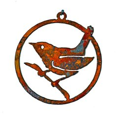 CO109 Wren on a Branch 3-inch Ornament