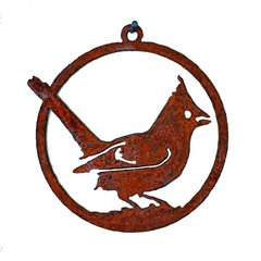 CO106 Cardinal 3-inch Ornament