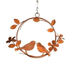R209 Singing Birds Wreath
