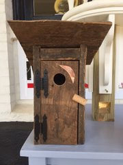 Rustic Outhouse Birdhouse BH 116