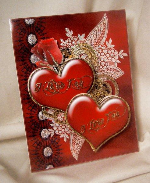 3d steampunk i love you greeting card handmade greeting cards for handmade greeting card 3d steampunk i love you m4hsunfo