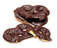 Dark Chocolate Covered Pretzels 350mg