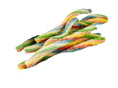 Rainbow Straws 400 mg