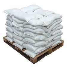 Filled Poly Sandbags, Pallet