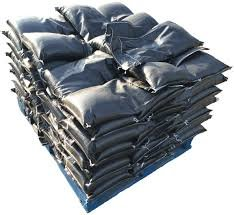 Filled Filter Fabric Bag - 4oz #5 Rock, Pallet