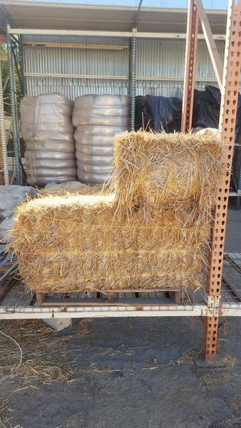 Straw Bale Sandbags Gravel Bags Erosion Control Straw