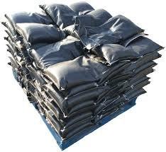 Filled Filter Fabric Bag - 8oz #3 Rock, Pallet