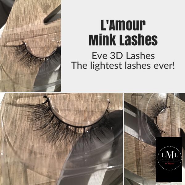 Eve 3D Mink Lashes - 3D Mink Lashes