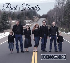 Lonesome Rd - Paul Family 2018 CD