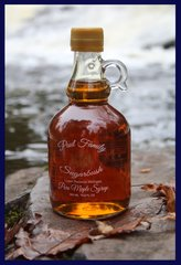 Pure Maple Syrup Glass Jug 16.9 oz/ 500 ml