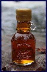 Pure Maple Syrup Glass Jug 3.4 oz/ 100 ml
