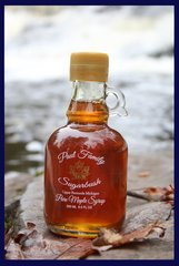 Pure Maple Syrup Glass Jug 8.5 oz/ 250 ml