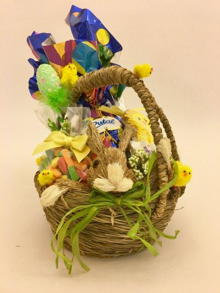 Easter gift baskets easter bunny basket easter egg basket east happy easter bunny basket negle Gallery