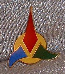 Pin Star Trek Classic Klingon Symbol