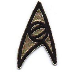 Patch Star Trek Classic Science
