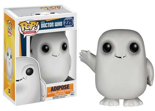 Funko POP! Doctor Who ADIPOSE #225 VAULTED