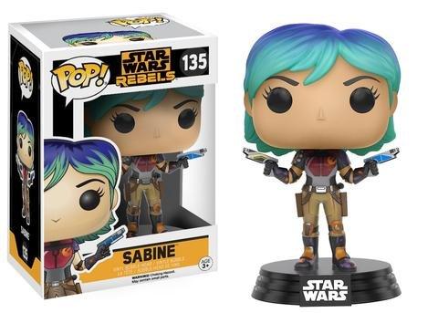 Funko POP! Star Wars Rebels SABINE #135