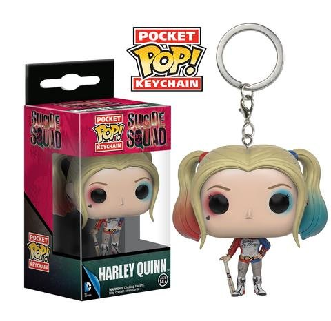 Funko Pocket POP! Keychain HARLEY QUINN Suicide Squad