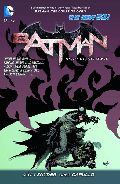 DC BATMAN NIGHT OF THE OWLS TP (N52)