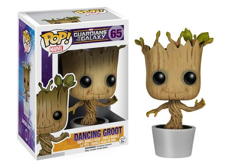 Funko POP! Marvel Guardians of the Galaxy DANCING GROOT #65