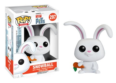 Funko POP! Secret Life of Pets SNOWBALL #297