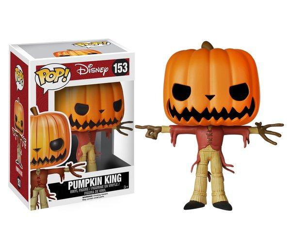 Funko POP! Disney NBX JACK Pumpkin King #153