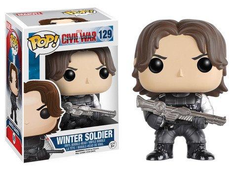 Funko POP! Marvel Civil War WINTER SOLDIER #129