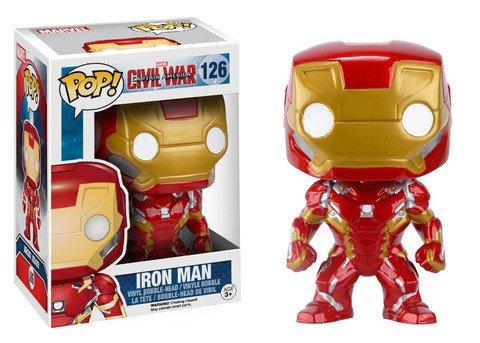 Funko POP! Marvel Civil War IRON MAN #126