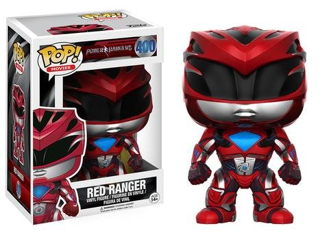 Funko POP! Power Rangers Movie RED RANGER #400