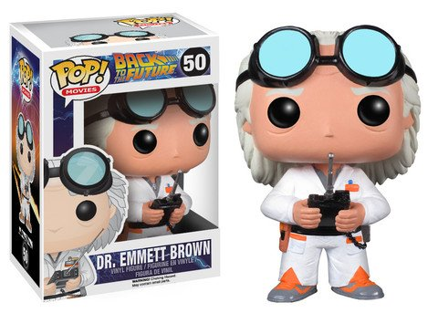 Funko POP! Back to the Future DR. EMMETT BROWN #50