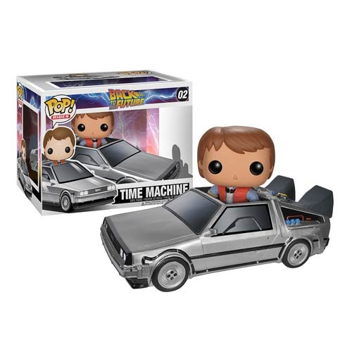 Funko POP! Back To The Future TIME MACHINE #02